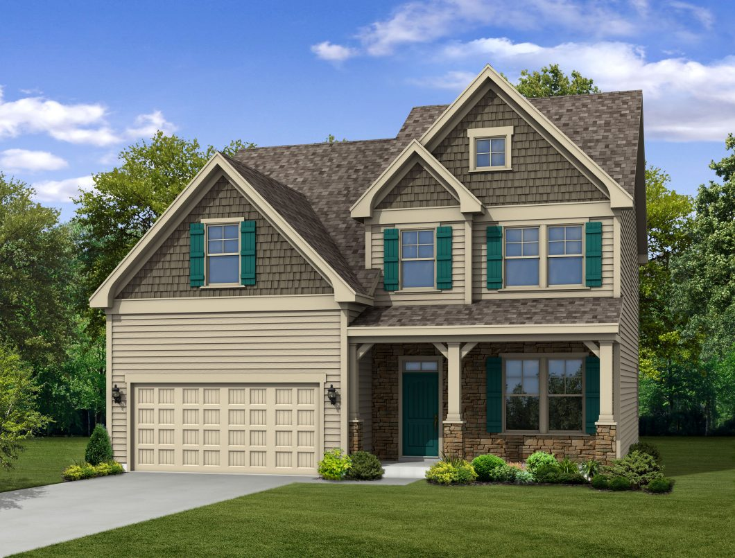 1027 big spring circle brightleaf for Circle house plans